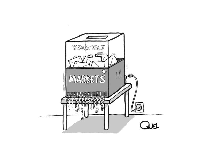 Αγορές εναντίον Δημοκρατίας, σημειώσατε 1.